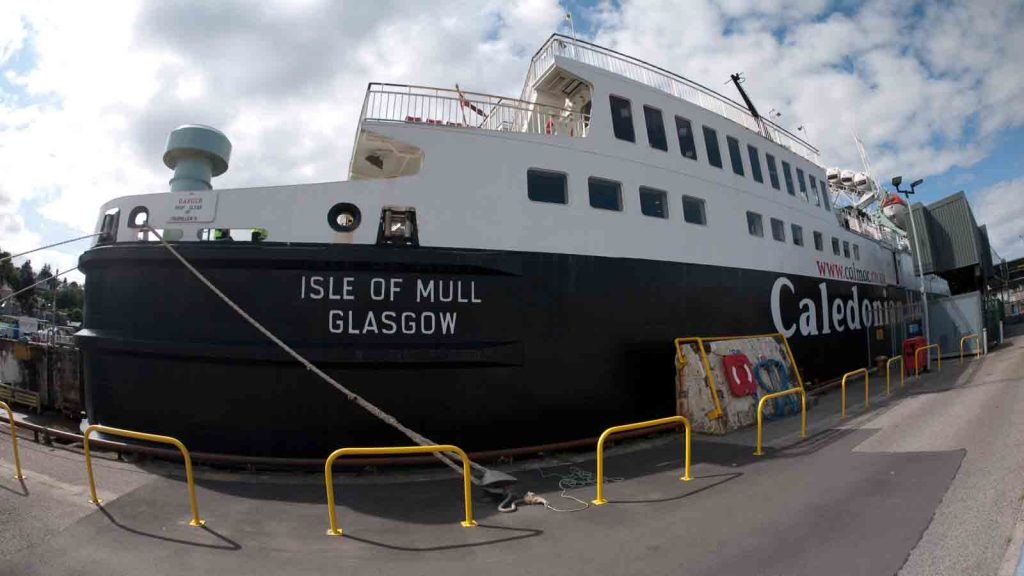 The Isle of Mull ferry,  Isle of Mull Ferry Timetables.