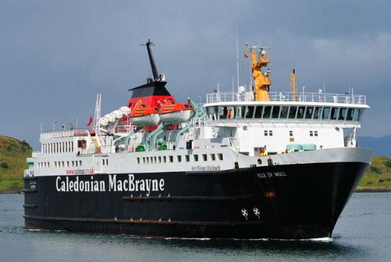 Caledonian MaacBrayne Isle of Mull ferry